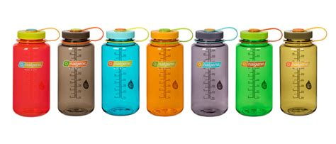 colors for nalgene debuts rainbow of colors for water bottles