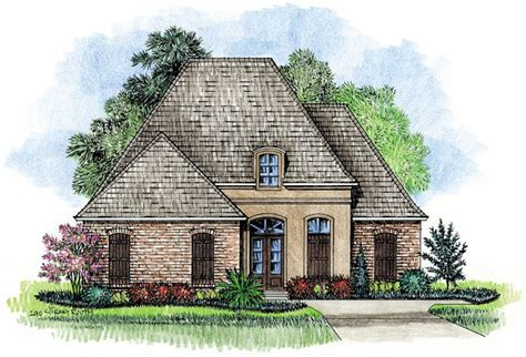 French Country Cottage Plans by Prestidge Country French Home Plans Louisiana House Plans