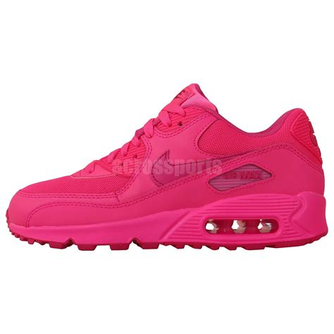 Nike Air Max 90 For Womens Import nike air max 90 2007 gs pink 2014 youth womens