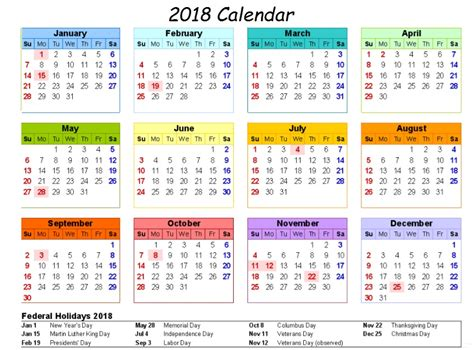printable calendar 2018 decorative calendar 2018 printable one page latest calendar