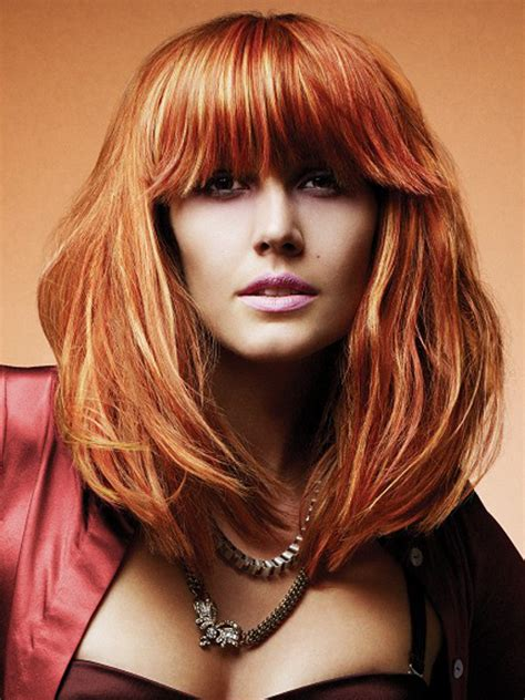 hairstyles color and highlights 2014 women s hairstyles multidimensional hair red color