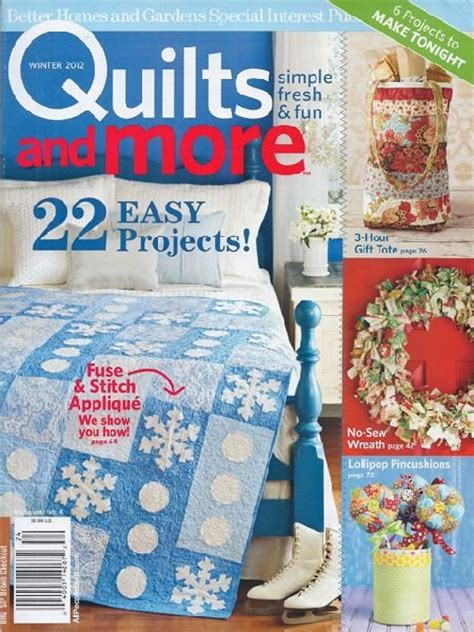 Better Homes And Gardens Quilt Magazine by Magazine Better Homes And Gardens Specialty Publication