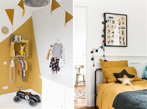 Chambre Jaune Moutarde