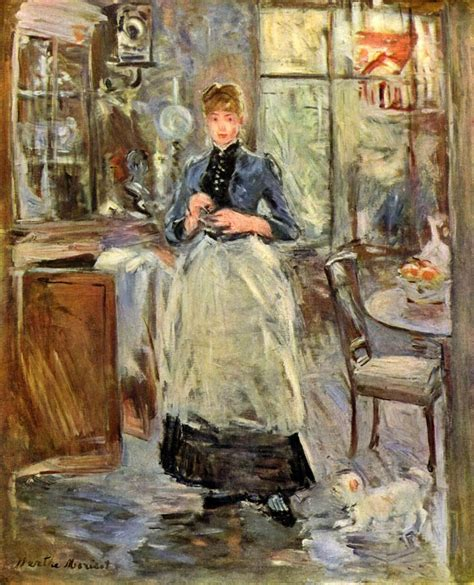 berthe morisot the dining room painting best paintings