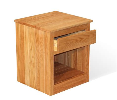 oak night stands bedroom 1 drawer oak nightstand