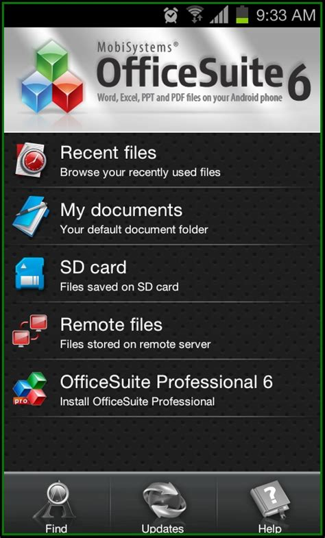 best android office suite best office suite app for android with file