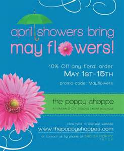 april showers bring may flowers poem wallpaper