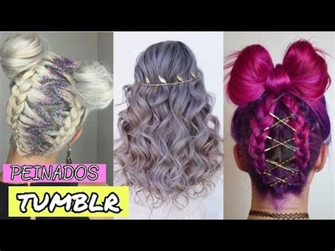 tumblr inspired hairstyles 2017 youtube