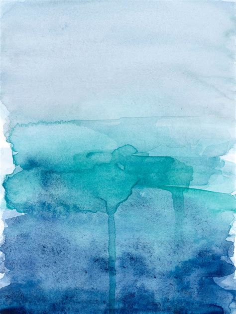 green water gray skies books blue ombre watercolour design blue ombre