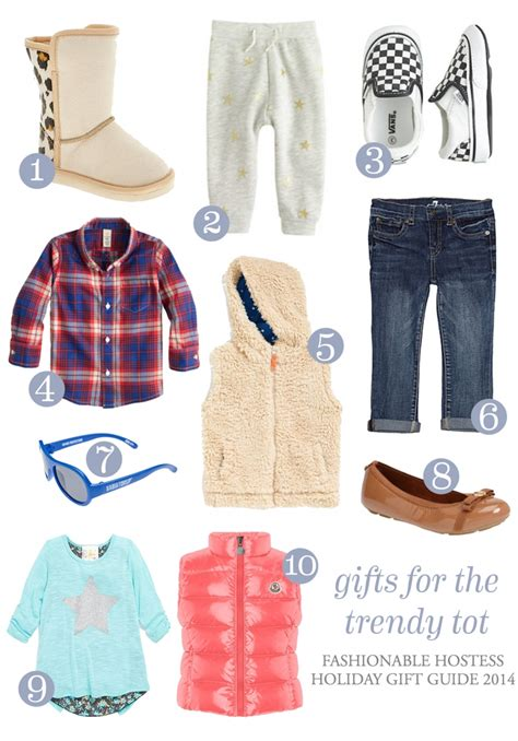 holiday gift guide for the trendy tot fashionable hostess