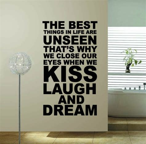 home decor for sale online 60 100 the best thing hot sale word quote wall decor