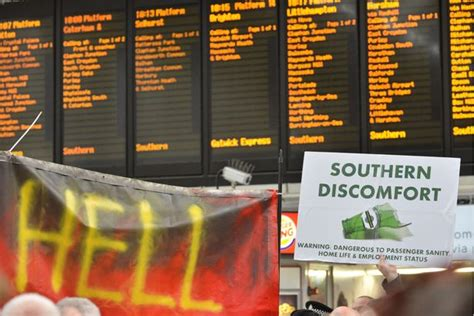 thameslink season ticket southern rail strike 2016 how to claim up to a month in