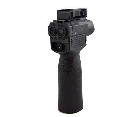 vertical grip with light vism vertical foregrip w tactical flashlight green laser