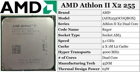 Processor Amd Athlon Ii X2 255 3 1ghz amd athlon ii x2 255 dual 3 1 g end 7 3 2018 11 30 pm