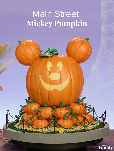main street mickey pumpkin  disneyland resort disney