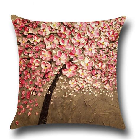 Decorative Pillows For Sofa 2017 Linen Waist Throw Pillow Sofa Home Decorative Cushion Cover Ebay