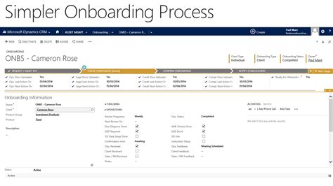 Financial Services Demo Findemo Update Coming Soon Microsoft Dynamics Blog Client Onboarding Templates