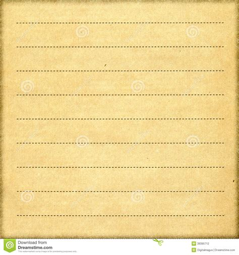 printable vintage notebook paper stylish vintage notebook paper sheet stock photo image