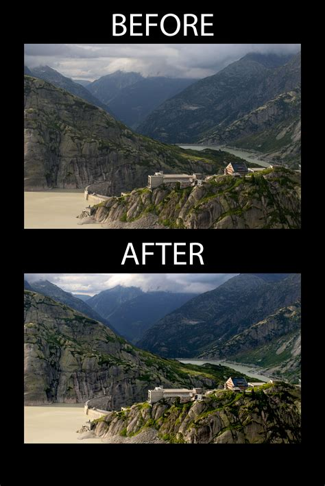 mountain man before and after in the mountain before and after lsst summit facilities