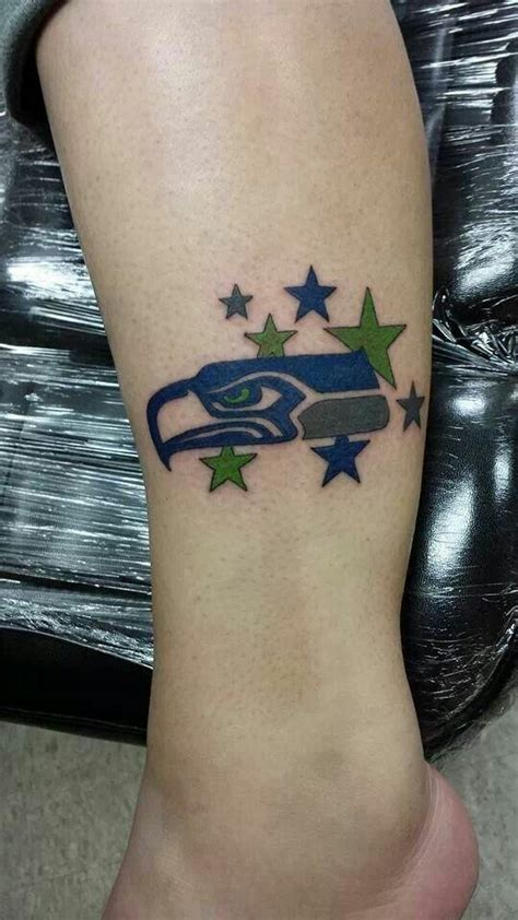 seahawks tattoo seahawks tattoos pictures to pin on