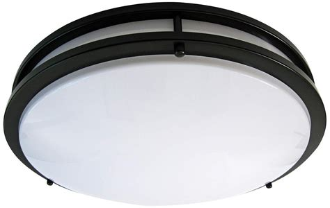 Blue Led Ceiling Lights Save 49 Light Blue Led Flush Mount Ceiling Light Rubbed Bronze 16 Inch 3000k Dimmable