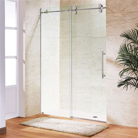 How To Clean Sliding Shower Doors Easy Clean Fitting Sliding Glass Frameless Shower Doors Buy Shower Doors Glass Shower Doors