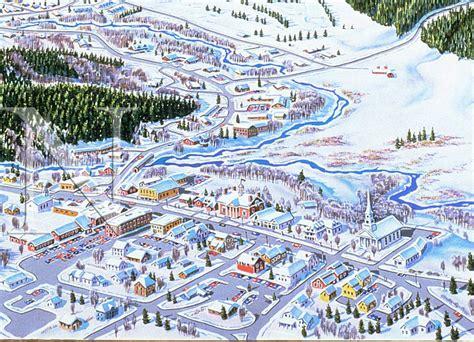 Phone Lookup Vt Stowe Vermont Niehues Map Artist Ski Maps Regional Maps Niehues
