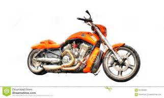 harley davidson motorcycle isolated on a white background