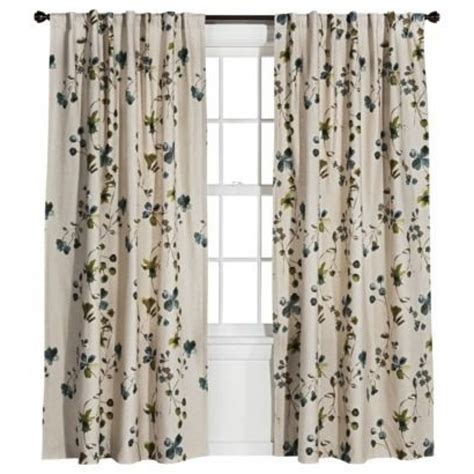 curtains in target curtains from target threshold watercolor floral window