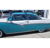 AMAZING 1956 FORD FAIRLANE CROWN VICTORIA  FOR SALE SOLD