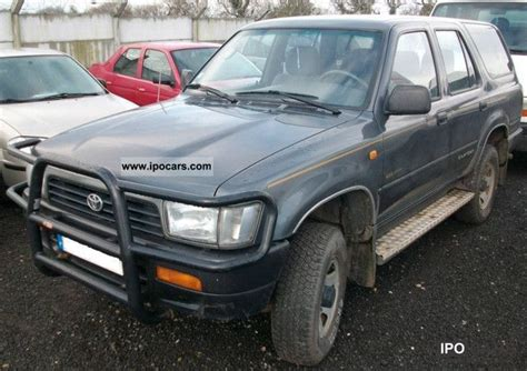1994 Toyota Specs 1994 Toyota 4runner 2 4 Td Car Photo And Specs