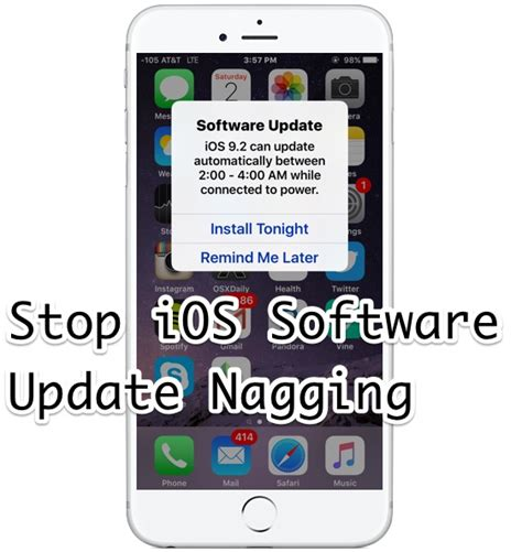 how to uninstall ios 6 update how to remove software update notification on iphone 4s