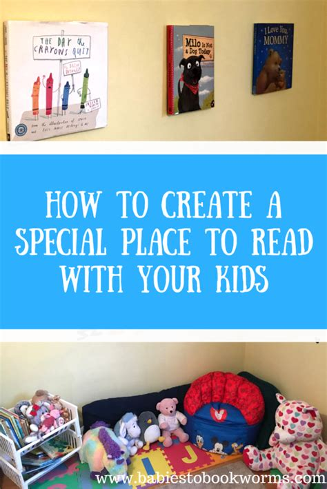A Place To Read How To Create A Special Place To Read With Your Babies To Bookworms