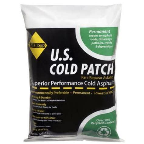 sakrete 50 lb u s cold patch 60450007 the home depot