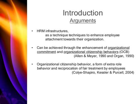 Organizational Citizenship Behavior Mba Ppt by Of Performance Management