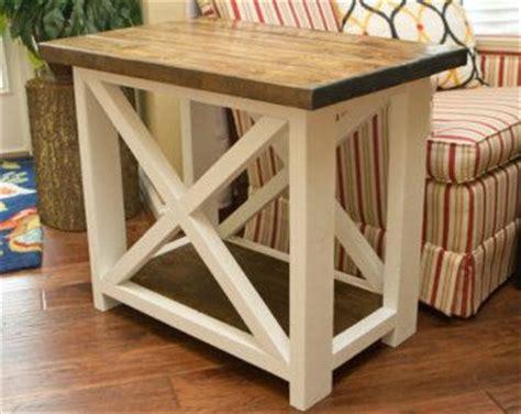 farmhouse style end tables 1000 ideas about rustic farmhouse table on