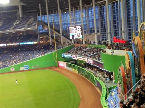 stadiumlinks at marlins park the another of the outfield foto di marlins park