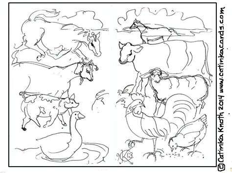 barnyard coyote pages coloring pages