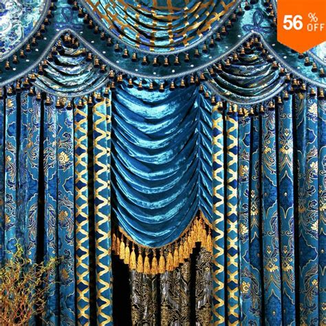 peacock drapes shop popular peacock curtain fabric from china aliexpress