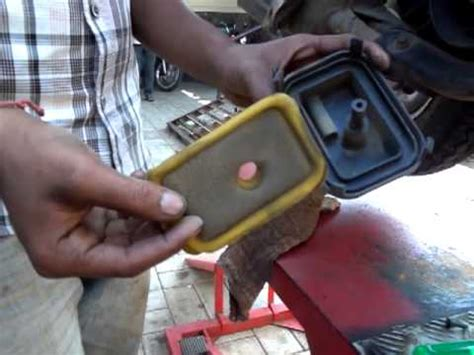 honda activa air filter cleaning activa part