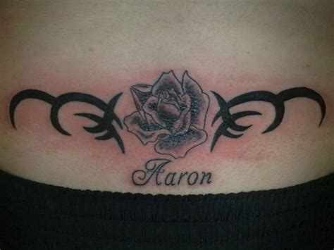 lower back tattoo designs with names lower back images designs