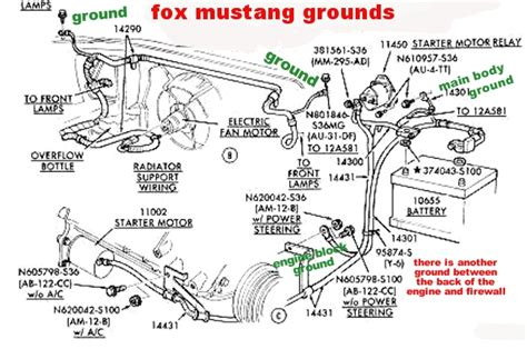 89 ford mustang starter solenoid wiring diagram onan