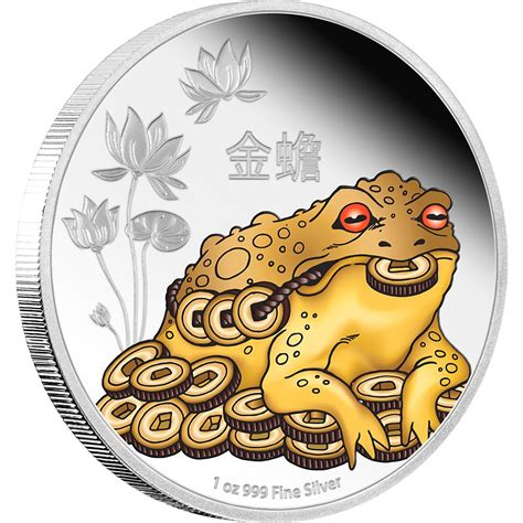 feng shui coins feng shui silver coin money toad new zealand mint