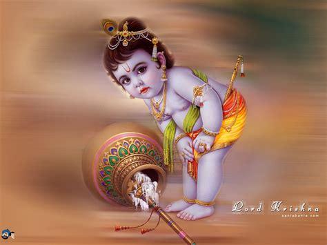 wallpaper for desktop of lord krishna cute child lord krishna images wallpapers