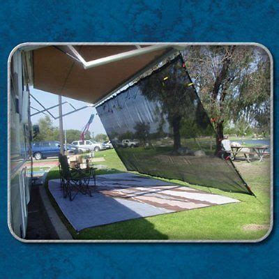 rv awning shades rv awning shade kit 8x14 complete rv shade kit black