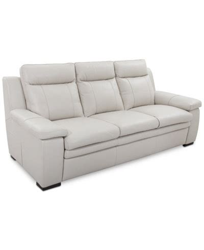 zane leather sofa furniture macy s