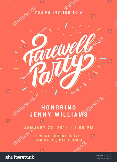 farewell templates free farewell invitation template jcmanagement co
