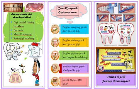 leaflet  menggosok gigi