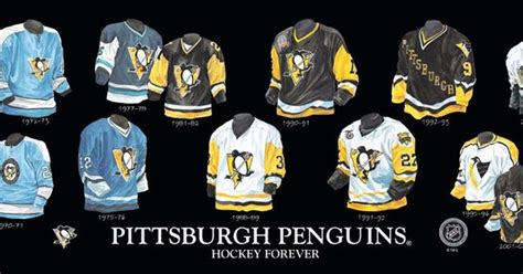 heritage uniforms and jerseys heritage uniforms and jerseys pittsburgh penguins