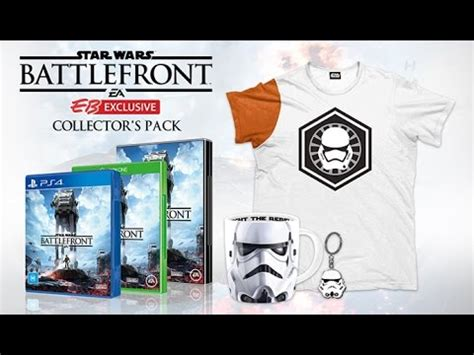 Gamis G 56 by Wars Battlefront Collector S Edition Unboxing Eb